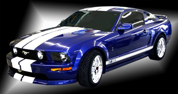 Mustang Bleu F