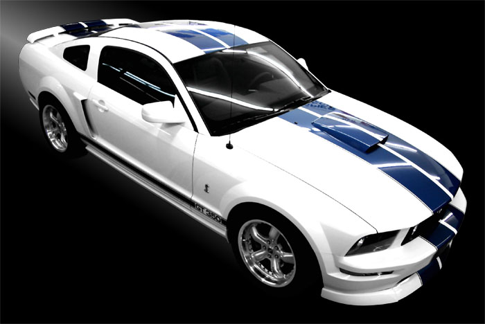 Mustang Blanche 2 F